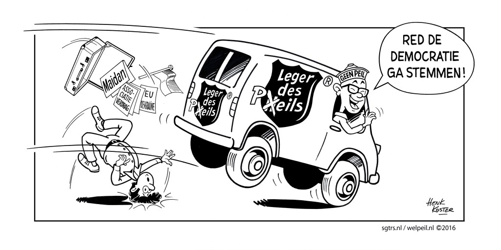 cartoon Leger des Peils