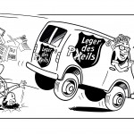 cartoon Leger des Peils